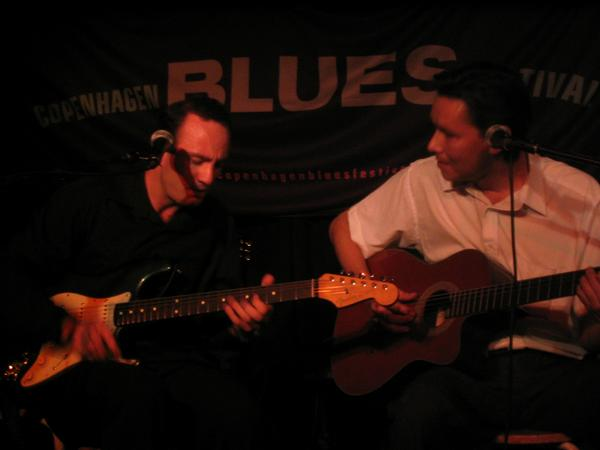 Late Night Blues med Darville Duo