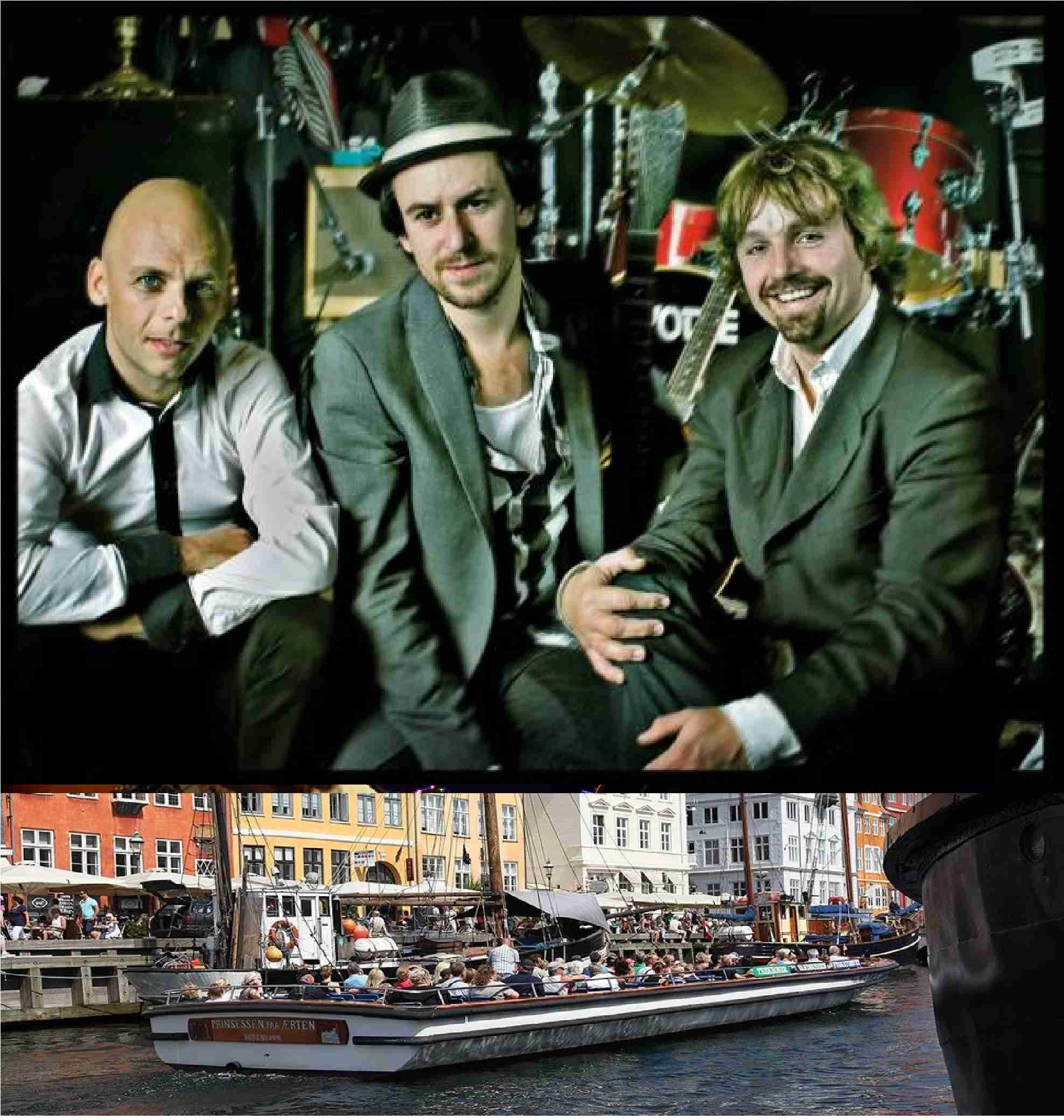 Blues Cruise med The Fried Okra Trio